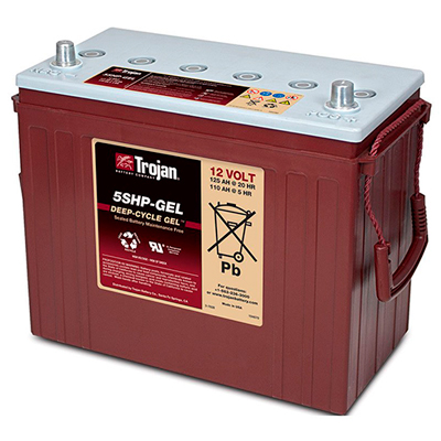 TROJAN BATTERY 5SHP-GEL