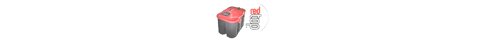 Optima Batteries Red Top